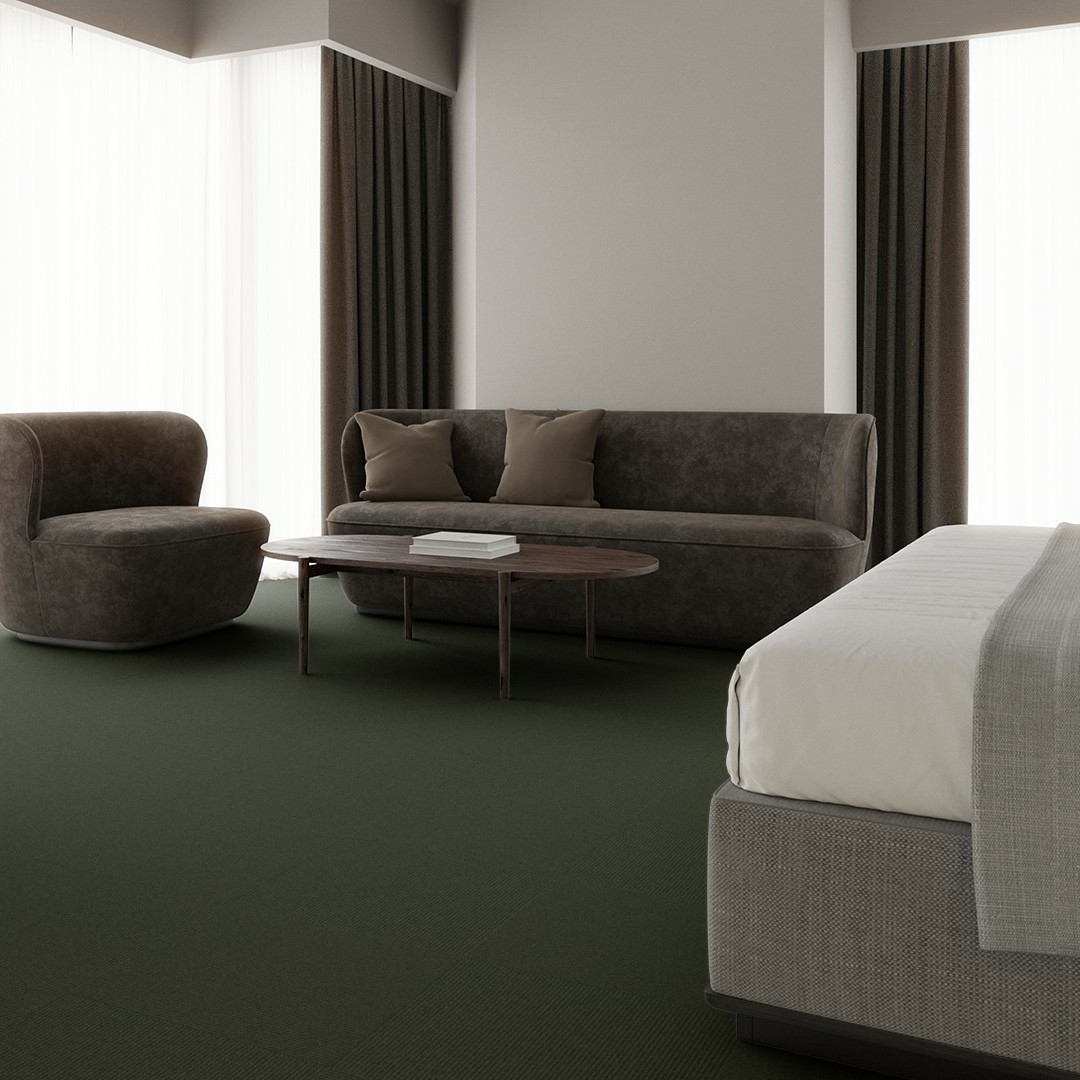 Contra Stripe ECT350 green-grey Roomview 4