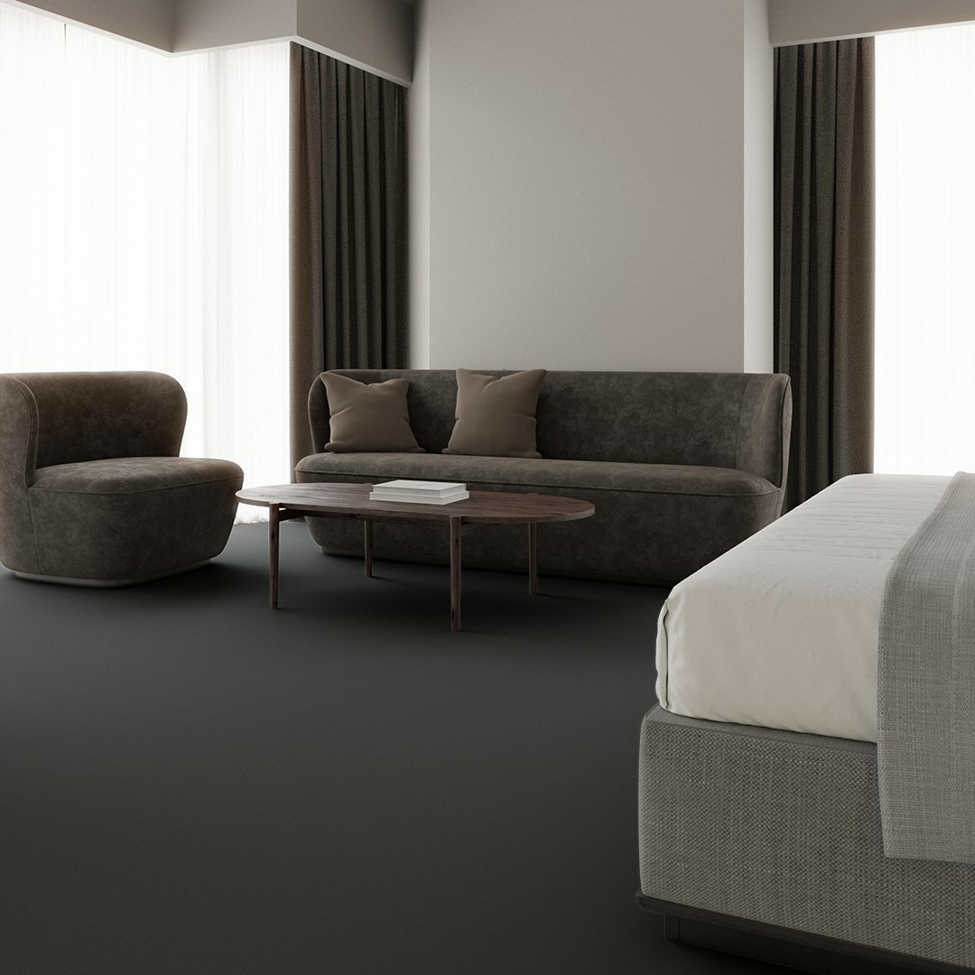 Contra Stripe ECT350 m.grey Roomview 4