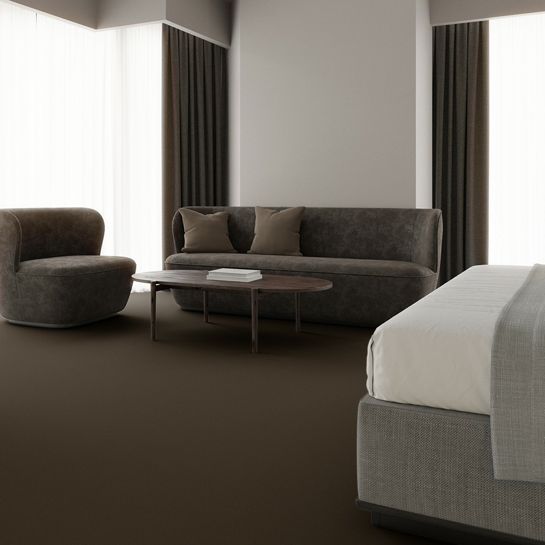 Texture 2000 wt taupe Roomview 3