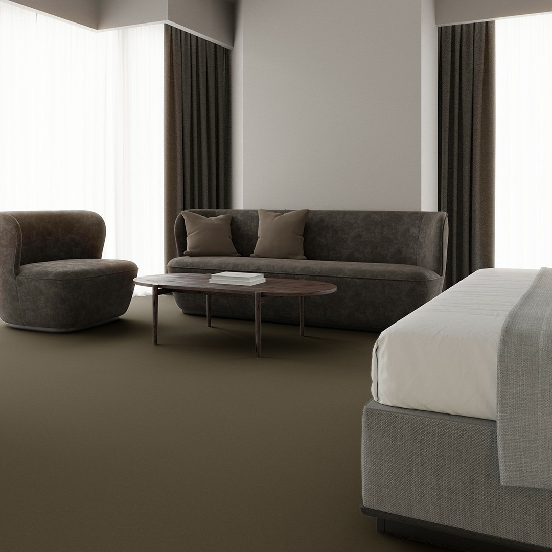 Texture 2000 wt moss green Roomview 3