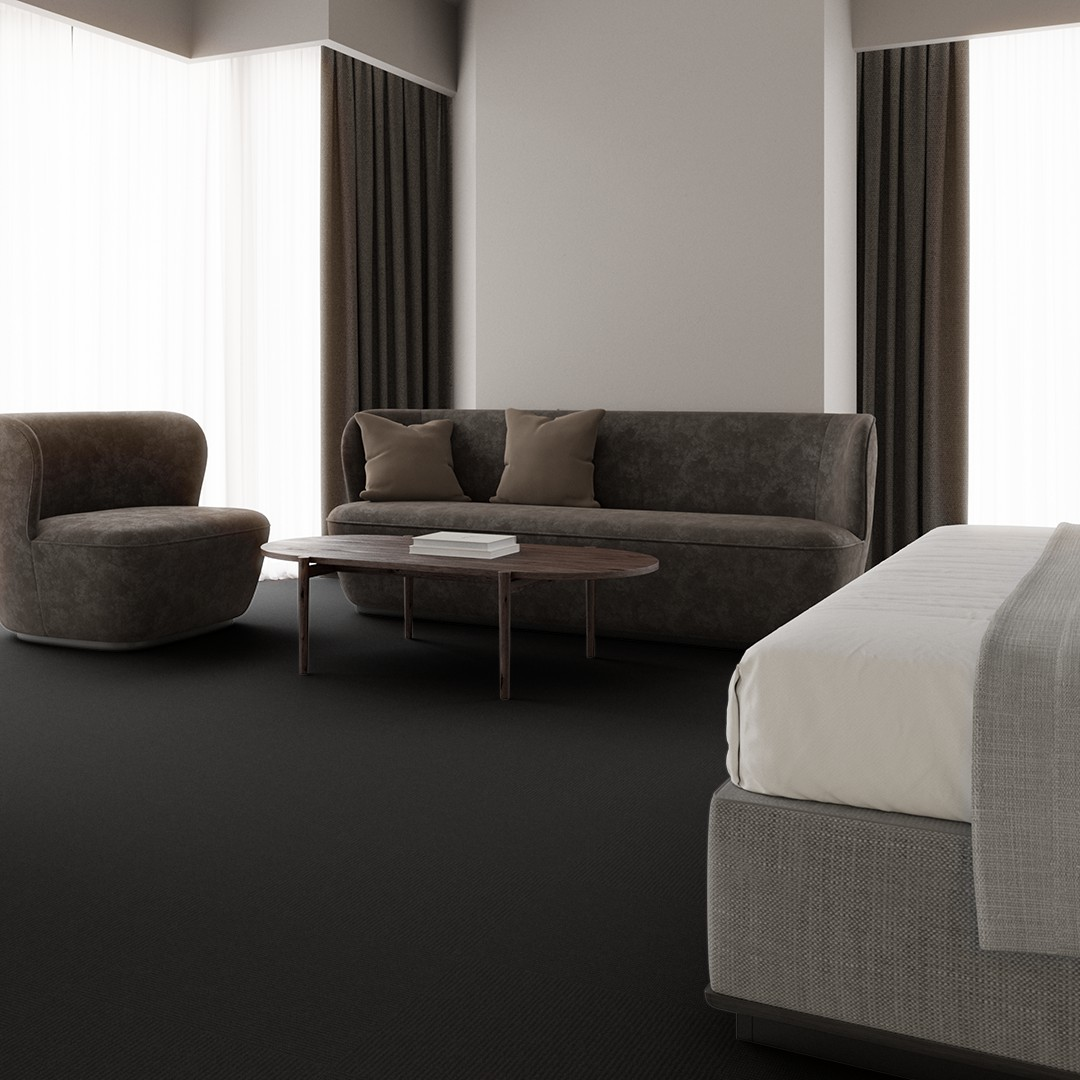 Una Micro Stripe ECT350 grey/black Roomview 3