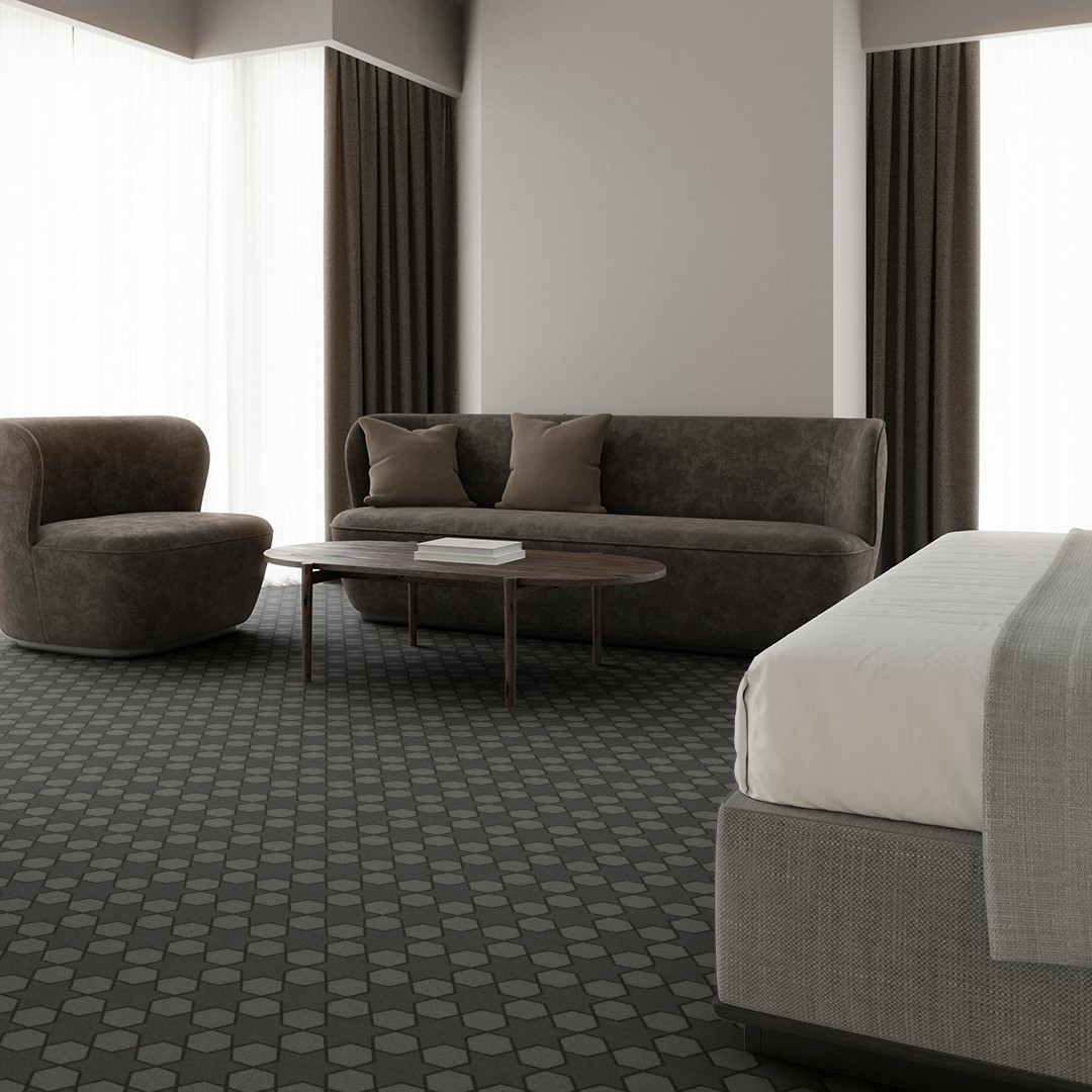mosaic star  grey Roomview 4