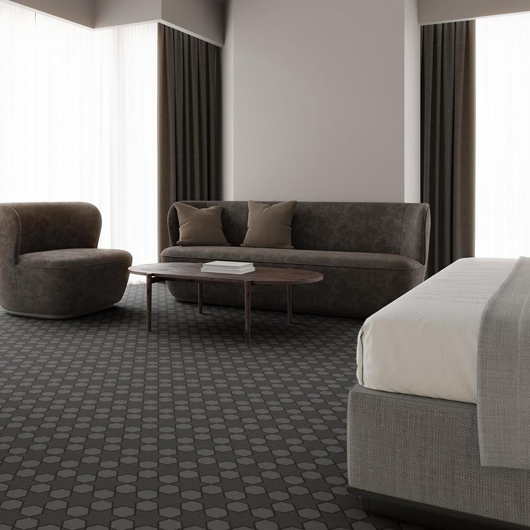 mosaic star  grey Roomview 3
