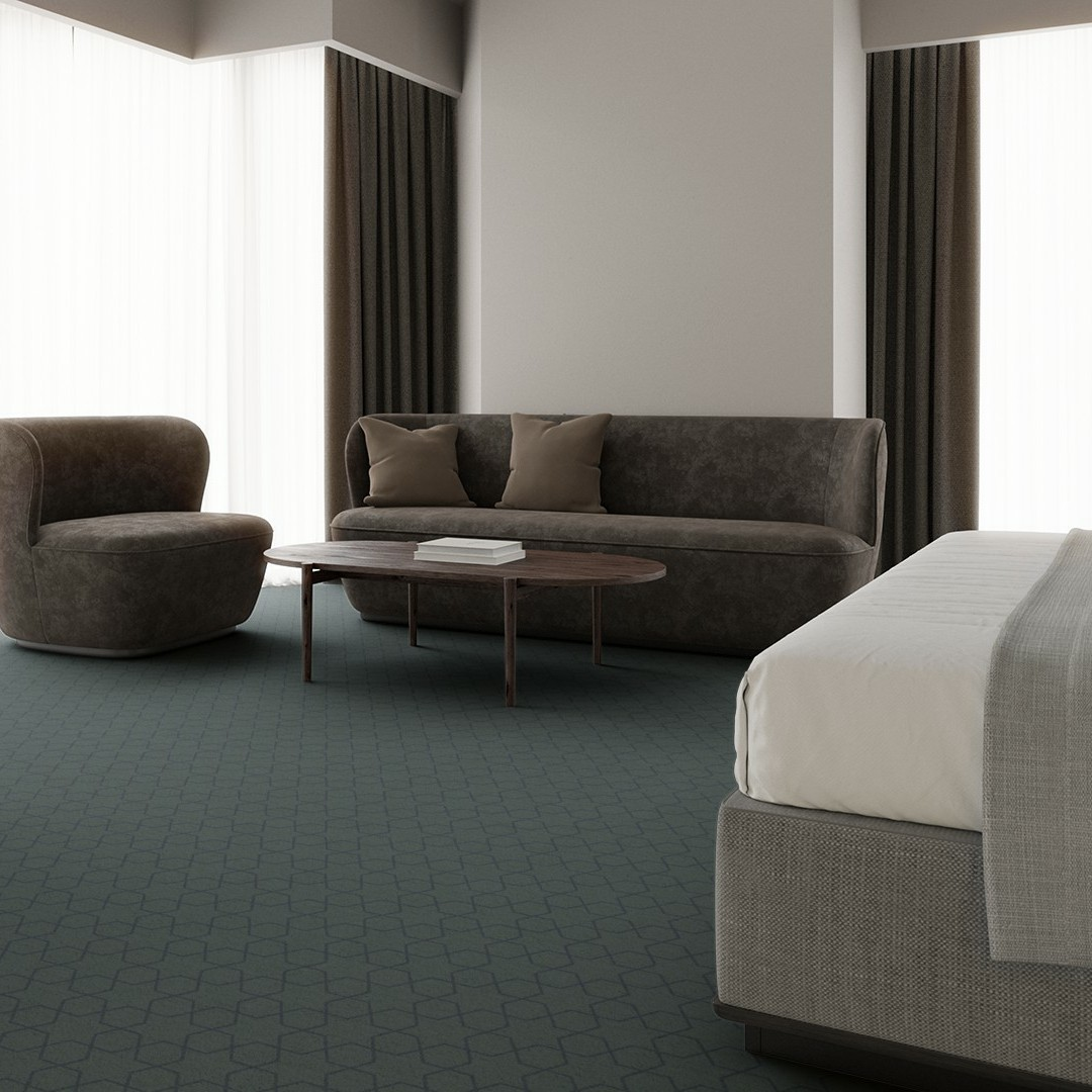 mosaic star  turquise Roomview 4