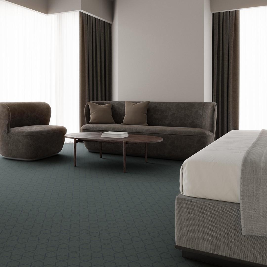 mosaic star  turquise Roomview 3