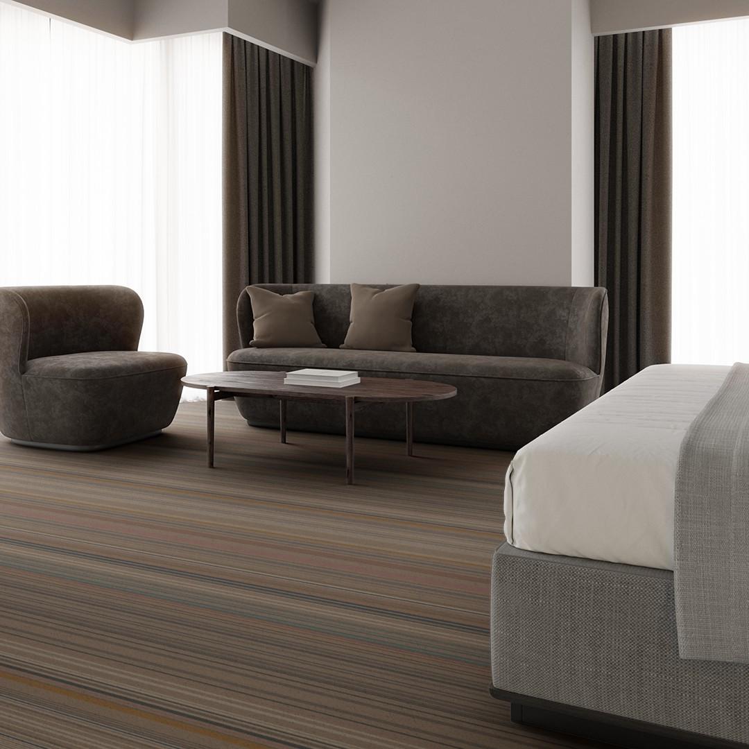 bright stripe  beige Roomview 3