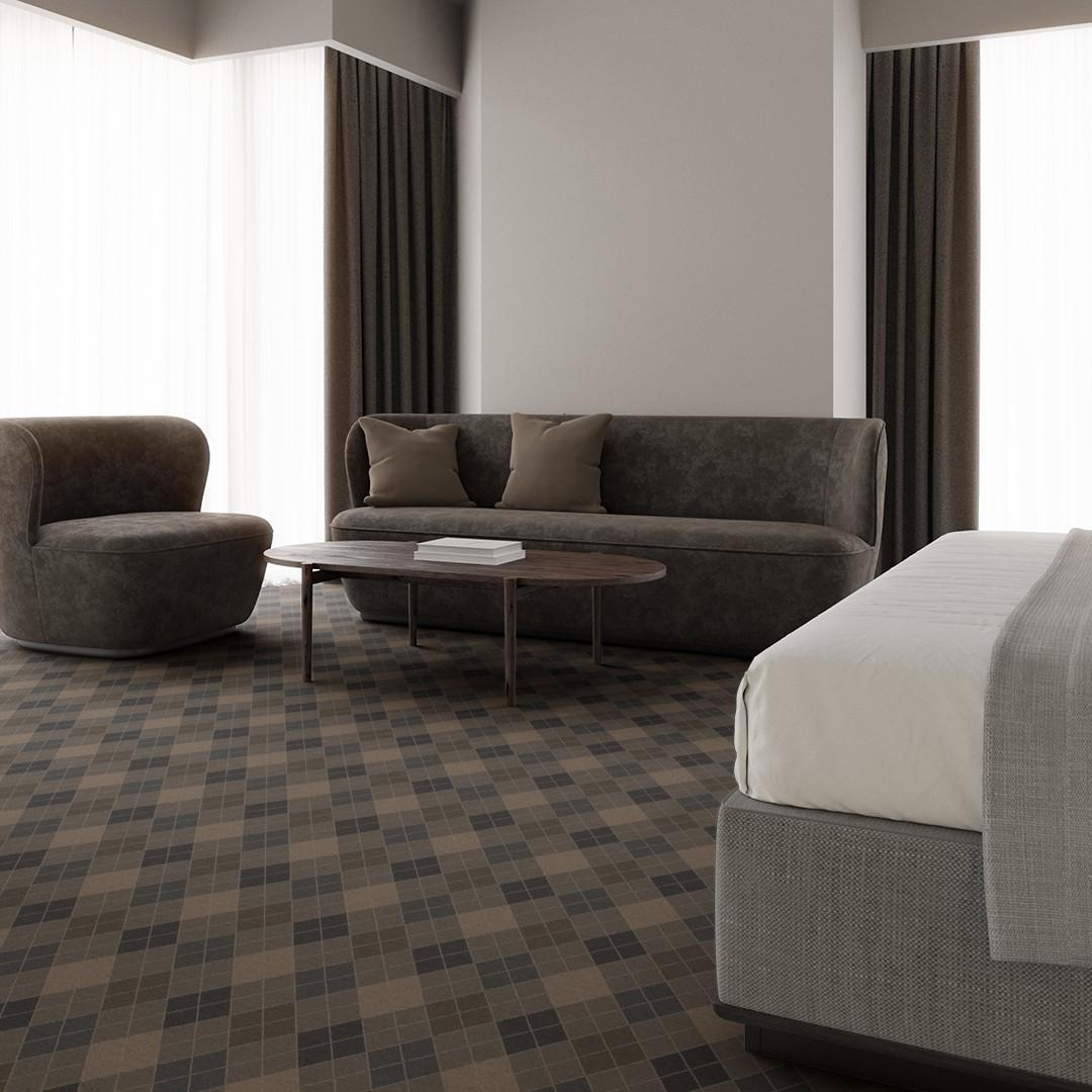 argyle  grey Roomview 4