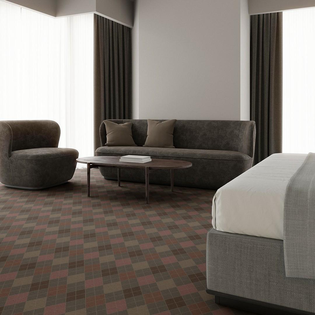 argyle  rosa Roomview 3