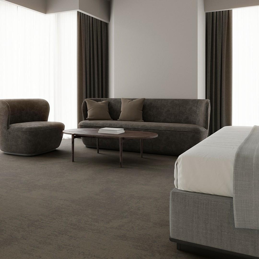 velvet beige Roomview 3