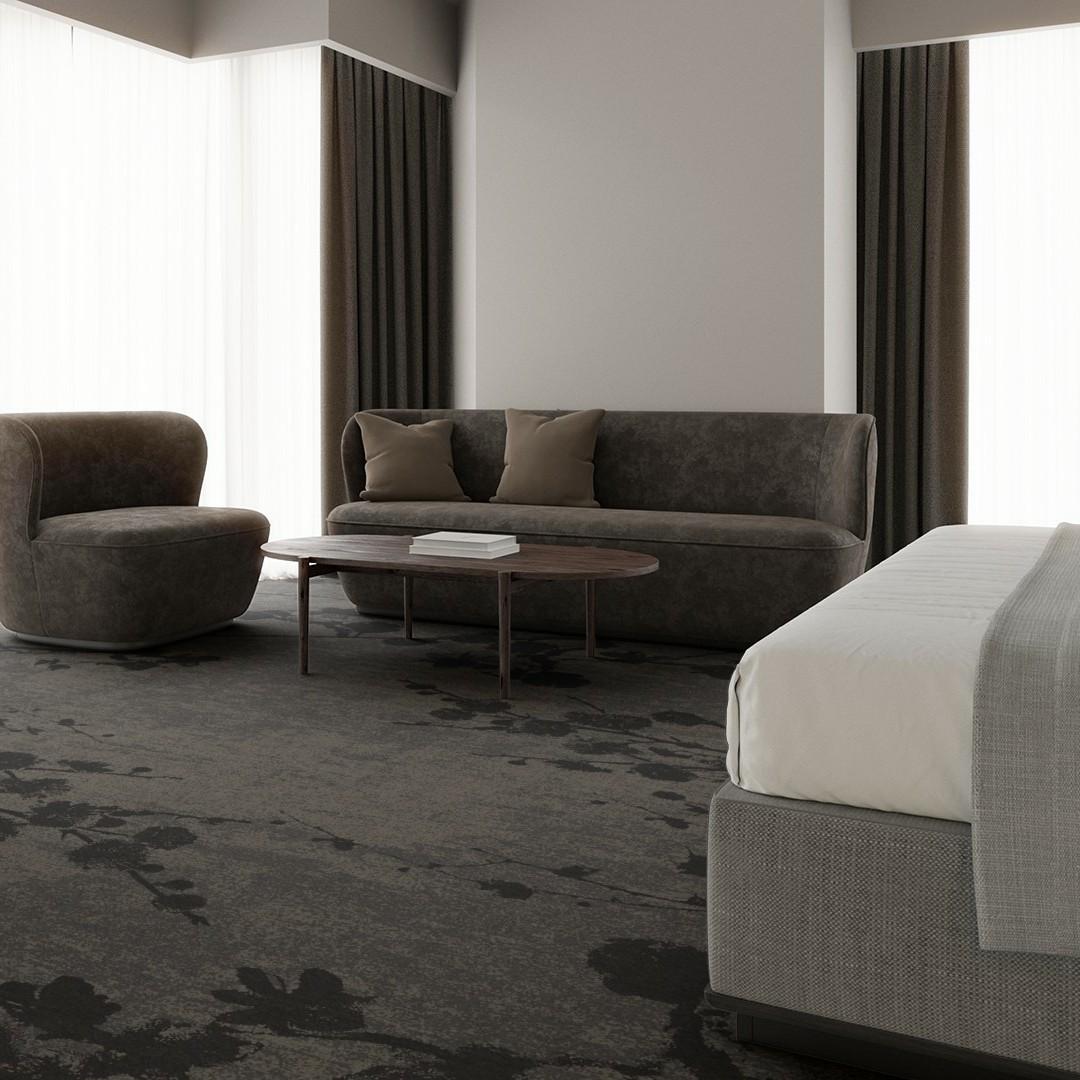 velvet bloom grey Roomview 3