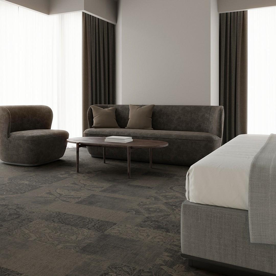 patchwork beige Roomview 3