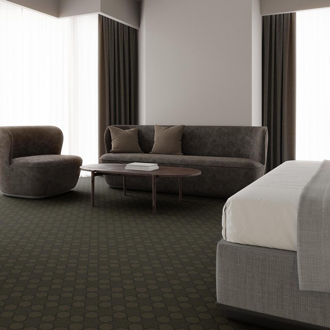 mosaic star  green Roomview 4
