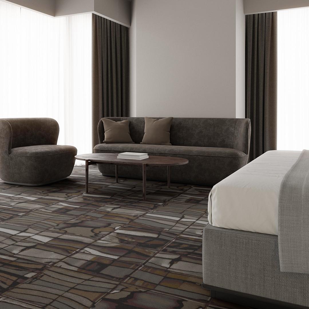 blur II  grey Roomview 4