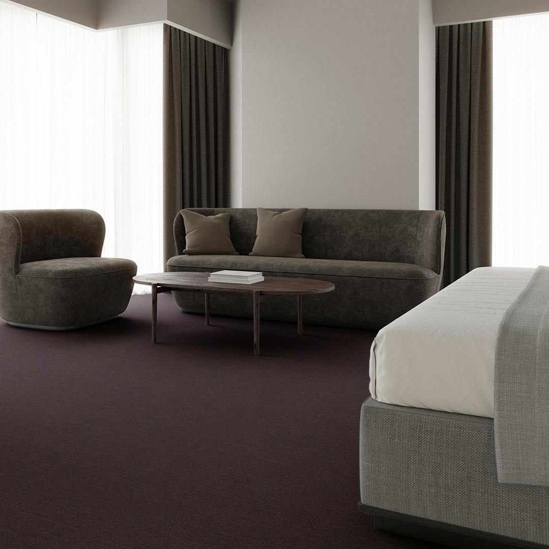 linen  purple Roomview 3