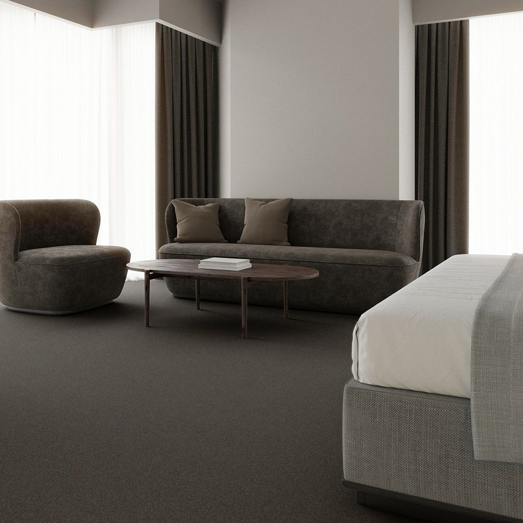 Grainy Texture  grey Roomview 4