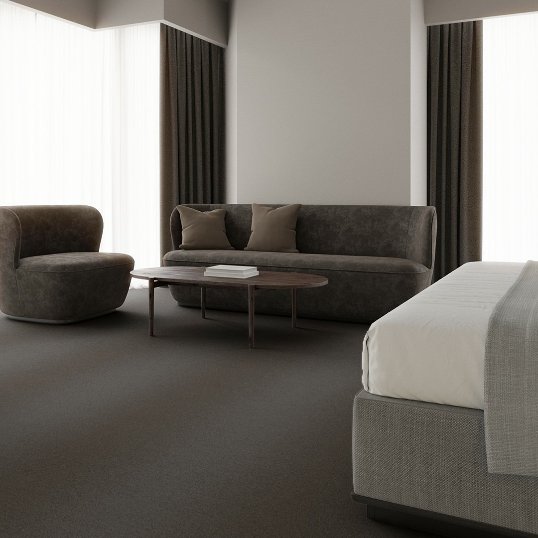 Chenille  grey Roomview 3