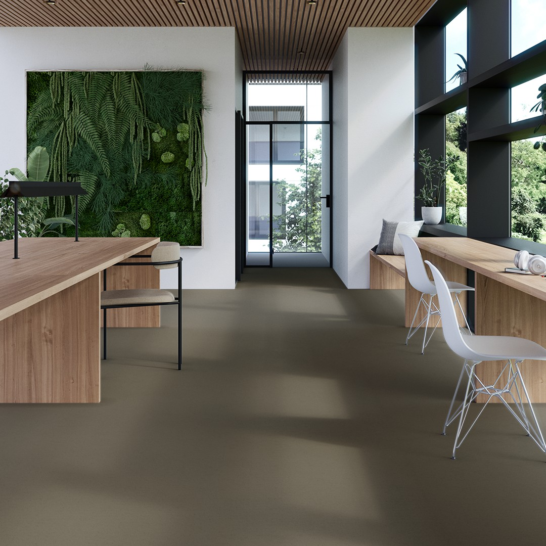 Epoca Ribs  light moss green Roomview 4