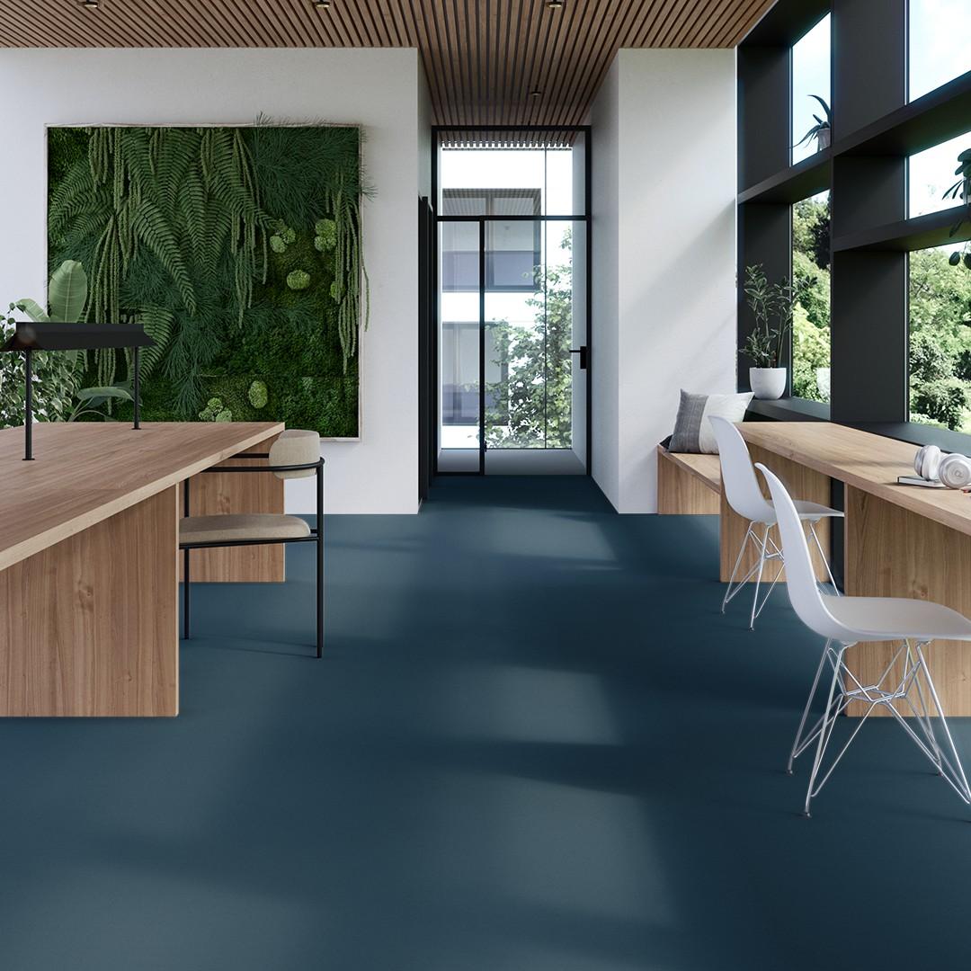 Epoca Ribs  turquoise Roomview 4
