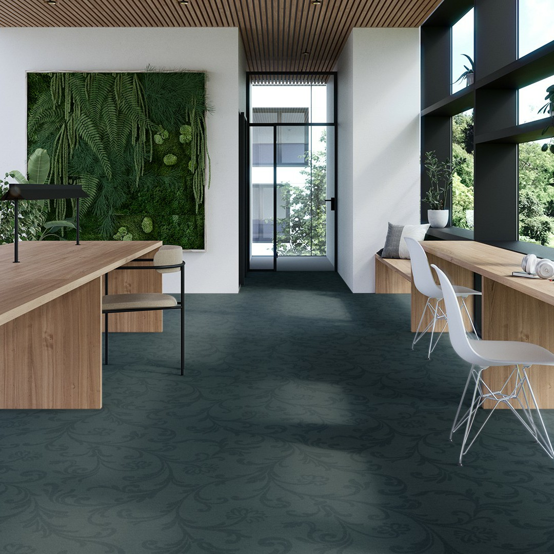 amalfi large  green Roomview 4