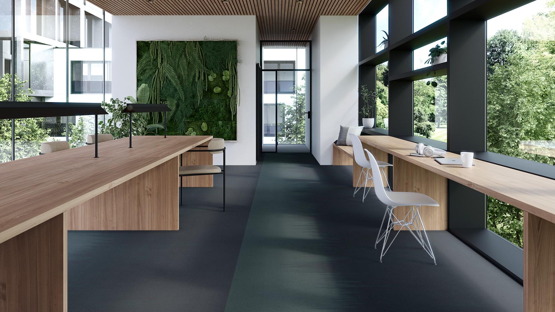 brush corridor 195 cm green RoowView 4