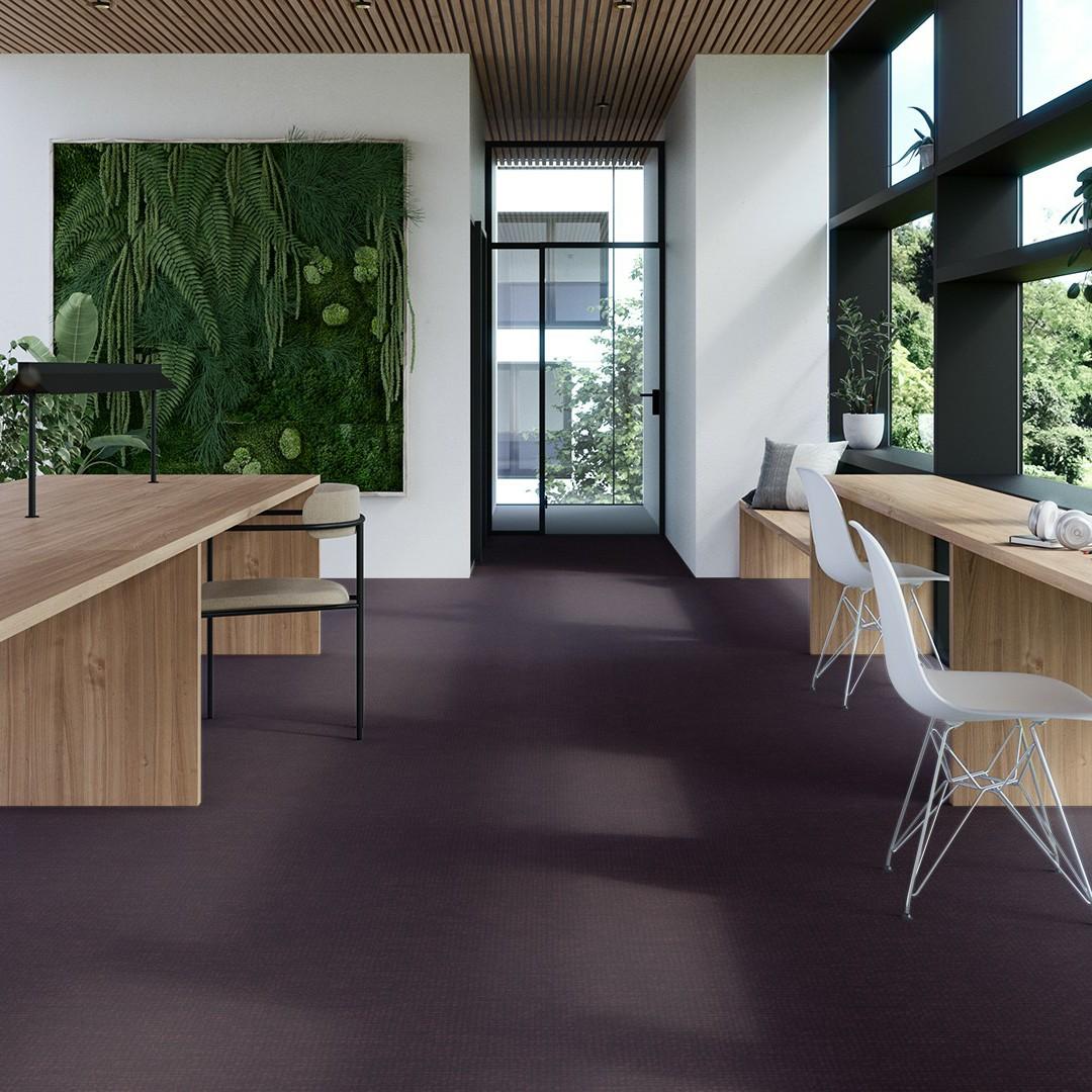 linen  purple Roomview 4