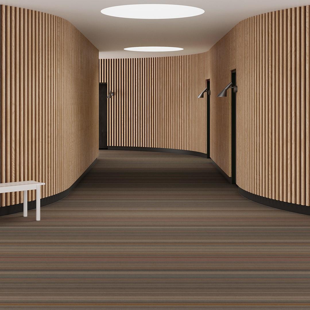 bright stripe  beige Roomview 1