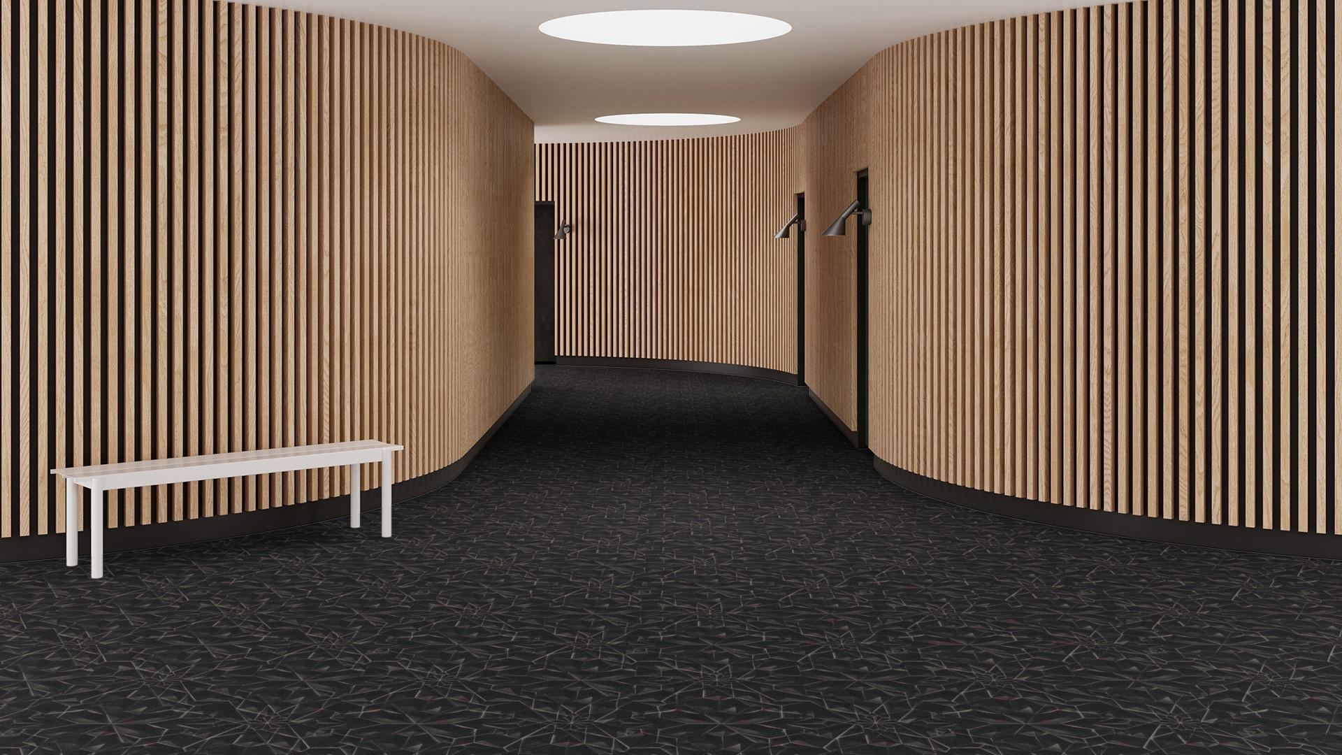 3d tile  black RoowView 3