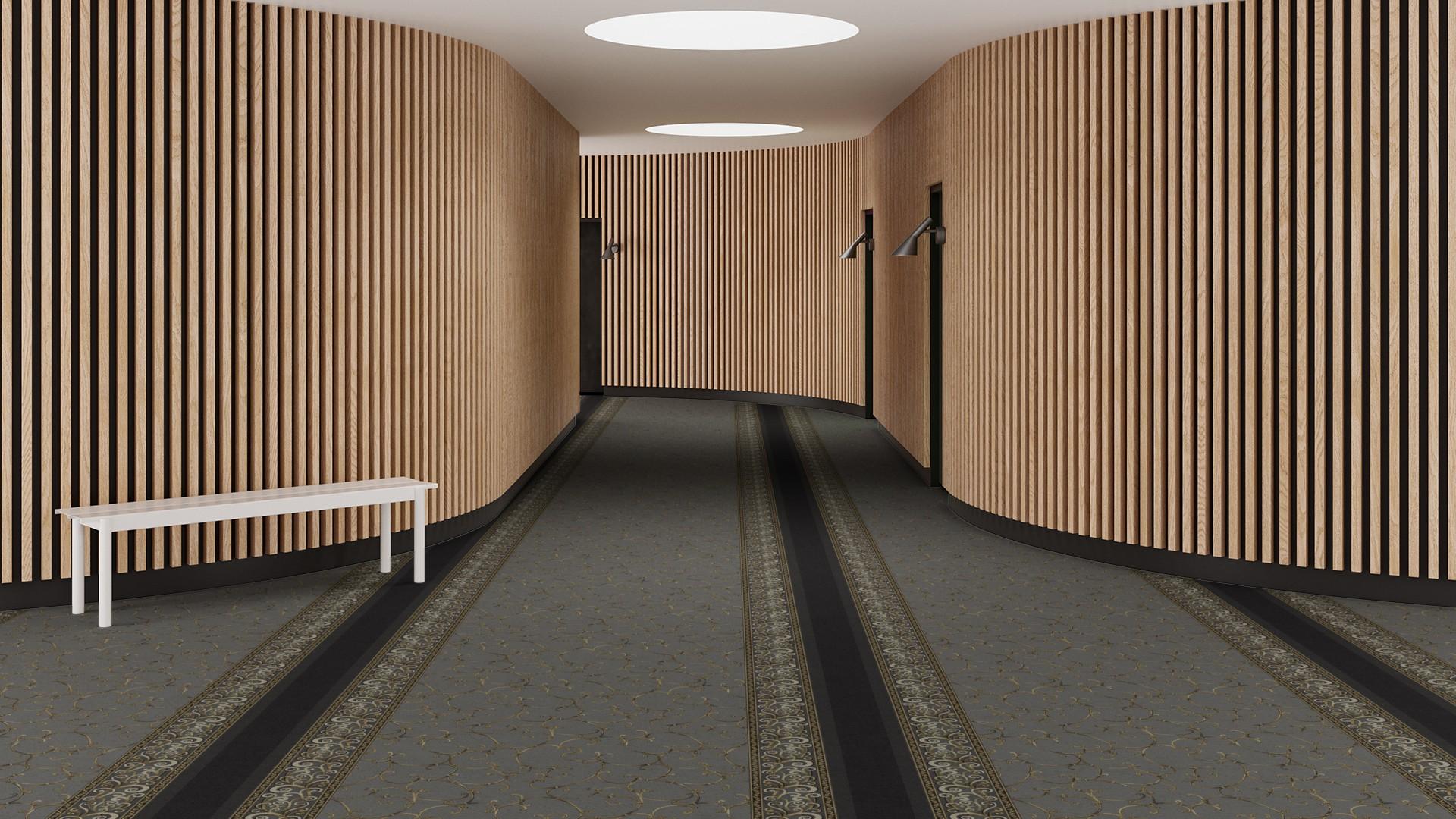 mucha corridor 195 cm grey RoowView 3