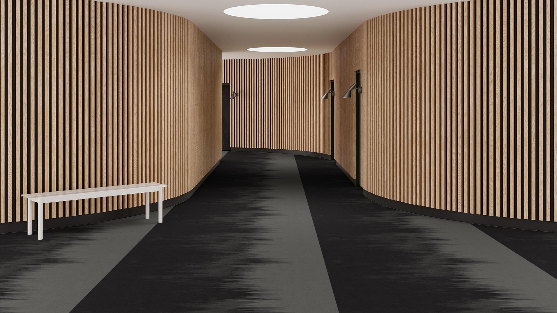 brush corridor 195 cm grey RoowView 3