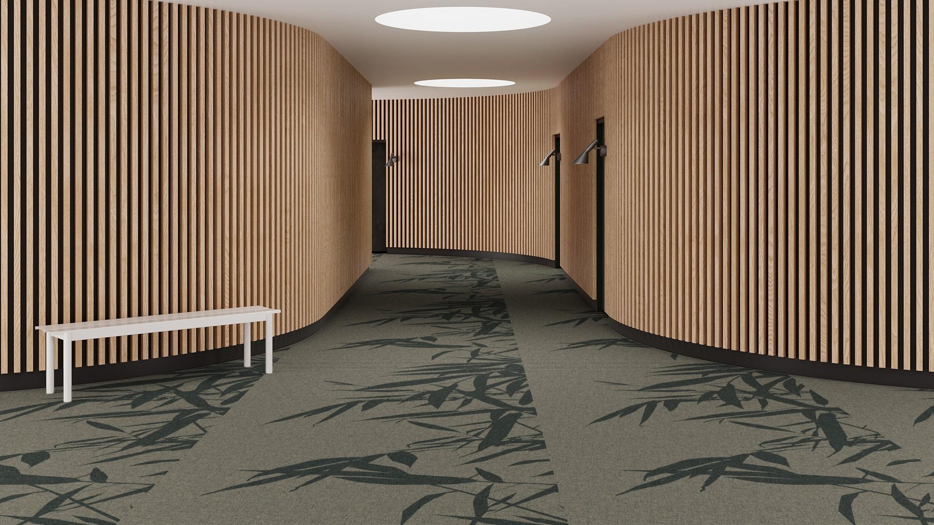 bamboo breeze corridor 195 cm green RoowView 3