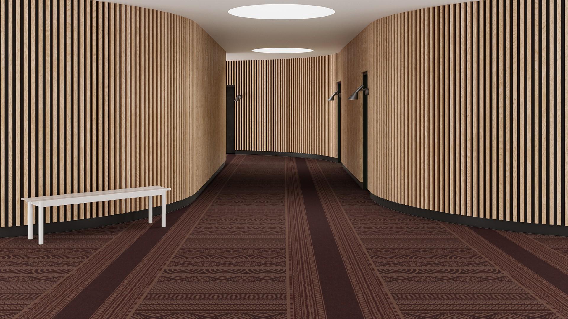 ghana corridor 195 cm red RoowView 3