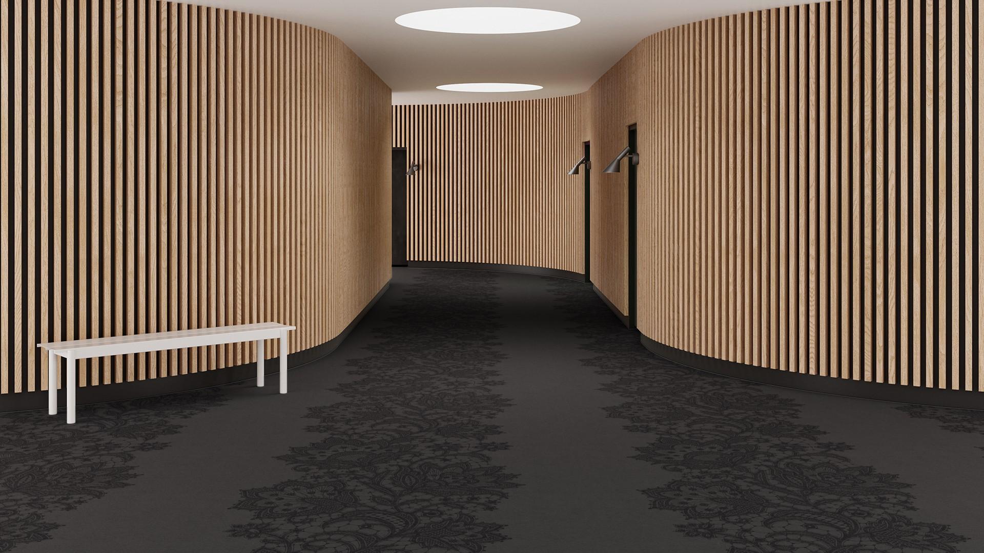 doily corridor 195 cm grey RoowView 3