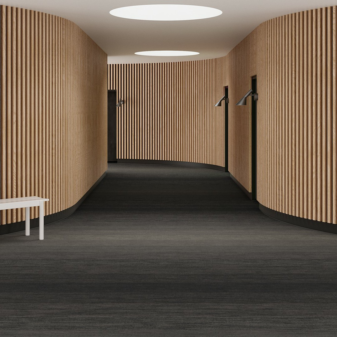 Melange Stripe  grey Roomview 4