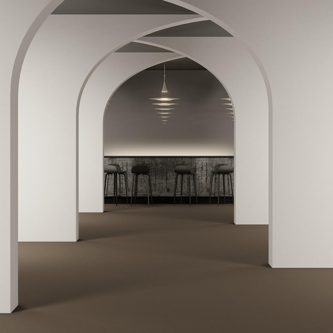 Epoca Ribs  beige Roomview 2