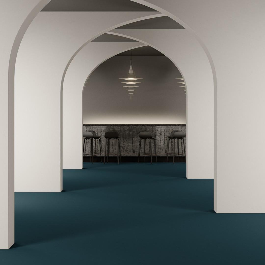 Epoca Ribs  turquoise Roomview 2