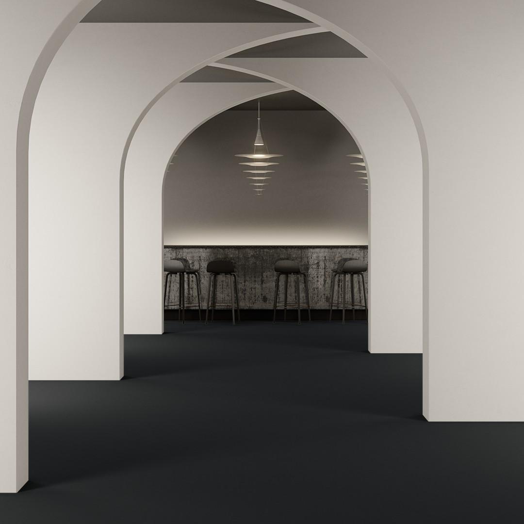 Epoca Ribs  light denim blue Roomview 4