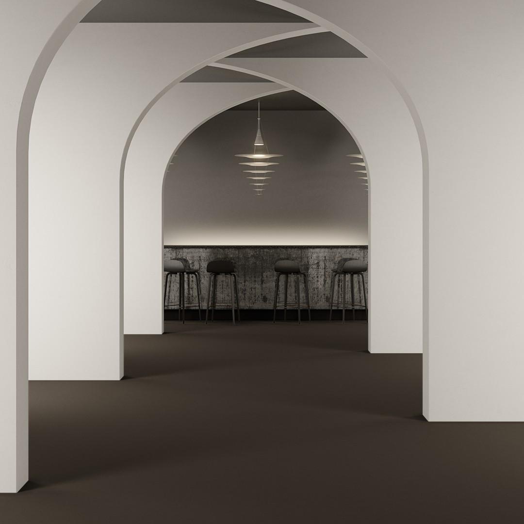 Epoca Ribs  light greybrown Roomview 2