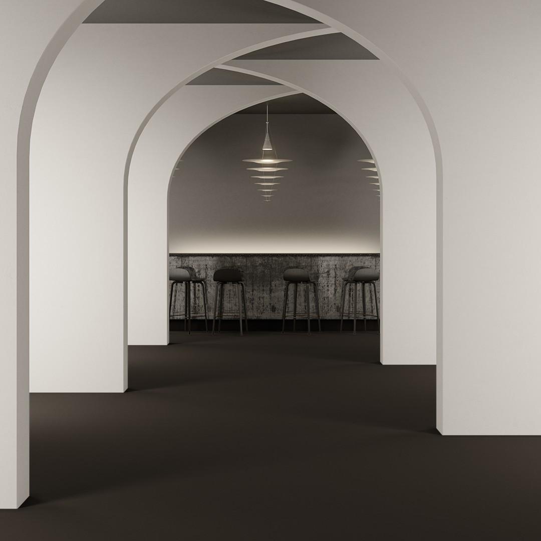Epoca Ribs  dark grey Roomview 2