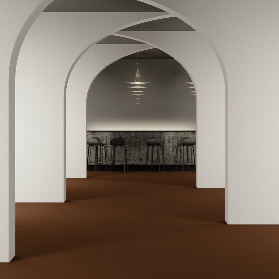 Epoca Ribs  copper Roomview 2