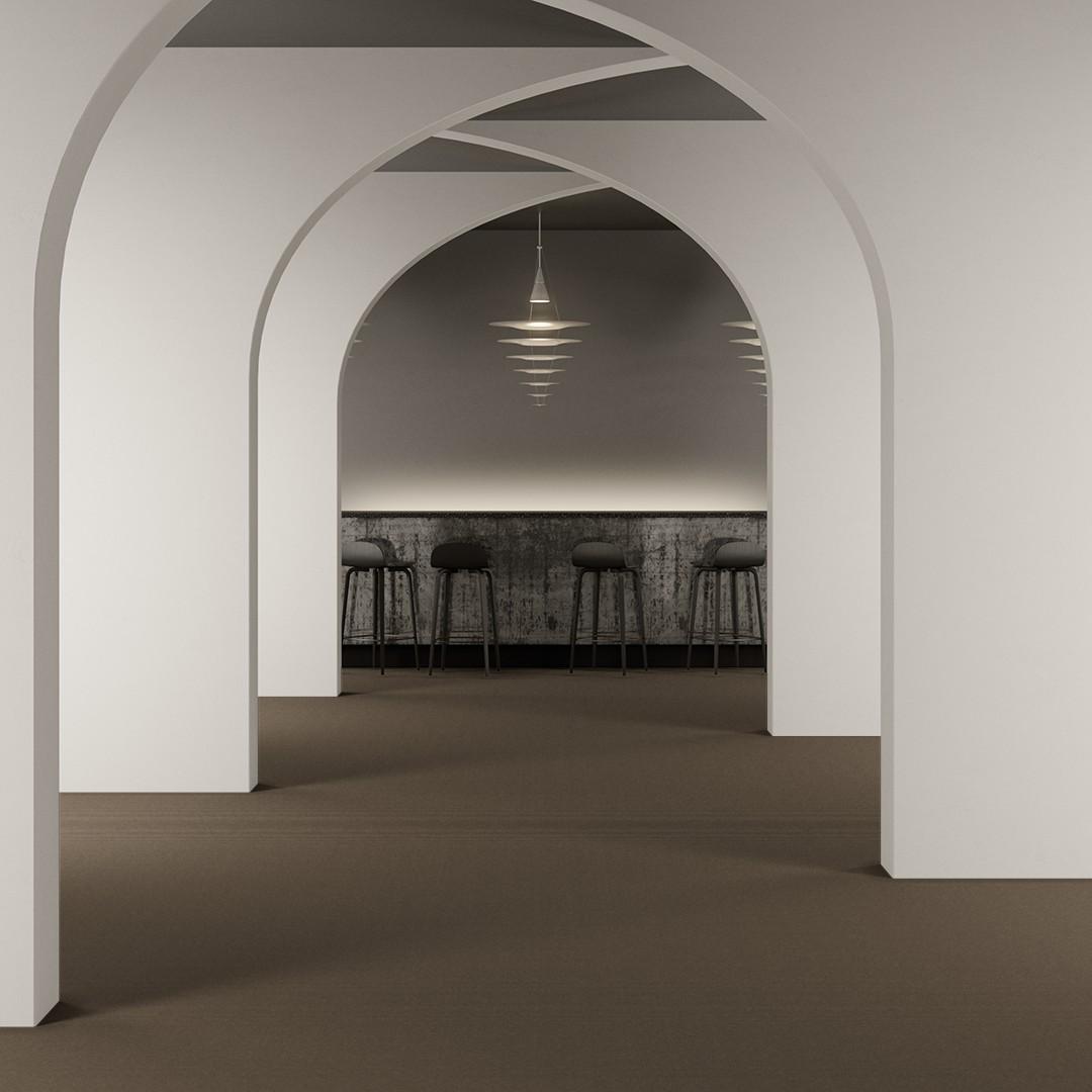 Epoca Globe  dark beige/straw Roomview 2