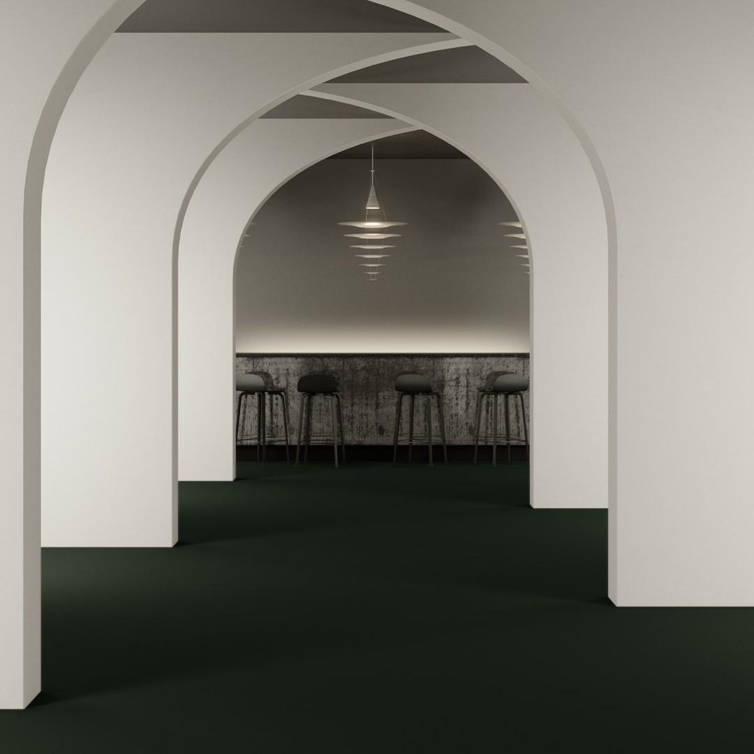 Texture 2000 wt emerald green Roomview 4