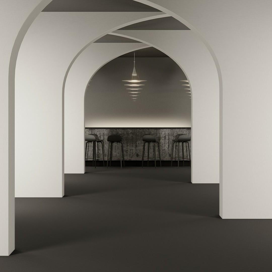 Texture 2000 wt  concrete Roomview 2