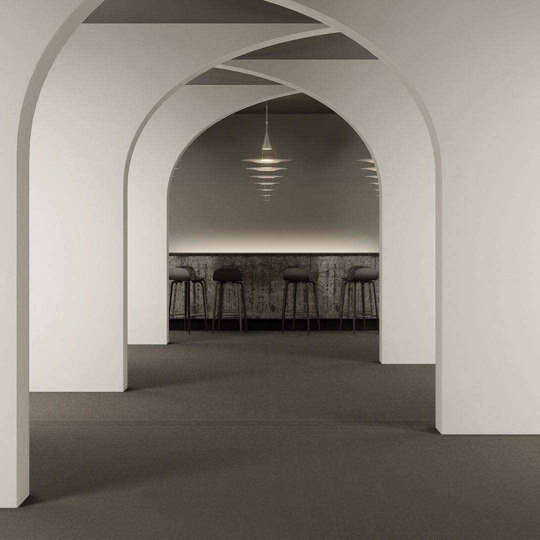 Epoca Frame  beige gris clair Roomview 2