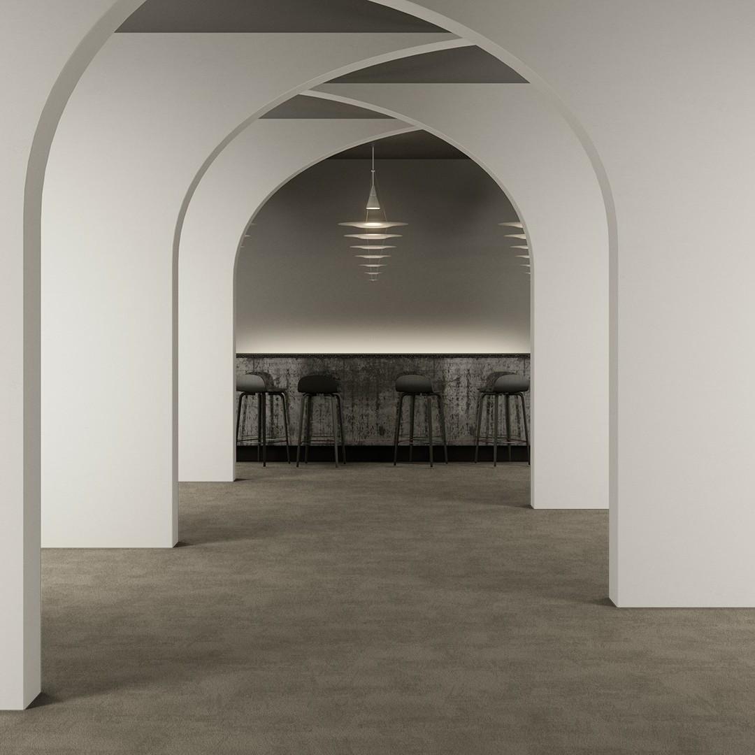 ReForm Artworks Assemble WT cement Roomview 2