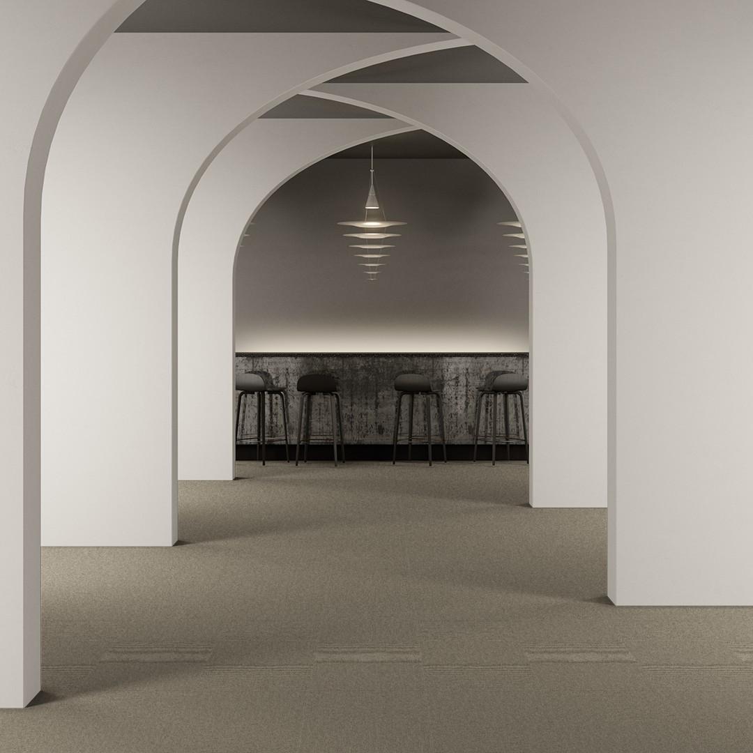 Una Grano ECT350 light beige Roomview 2