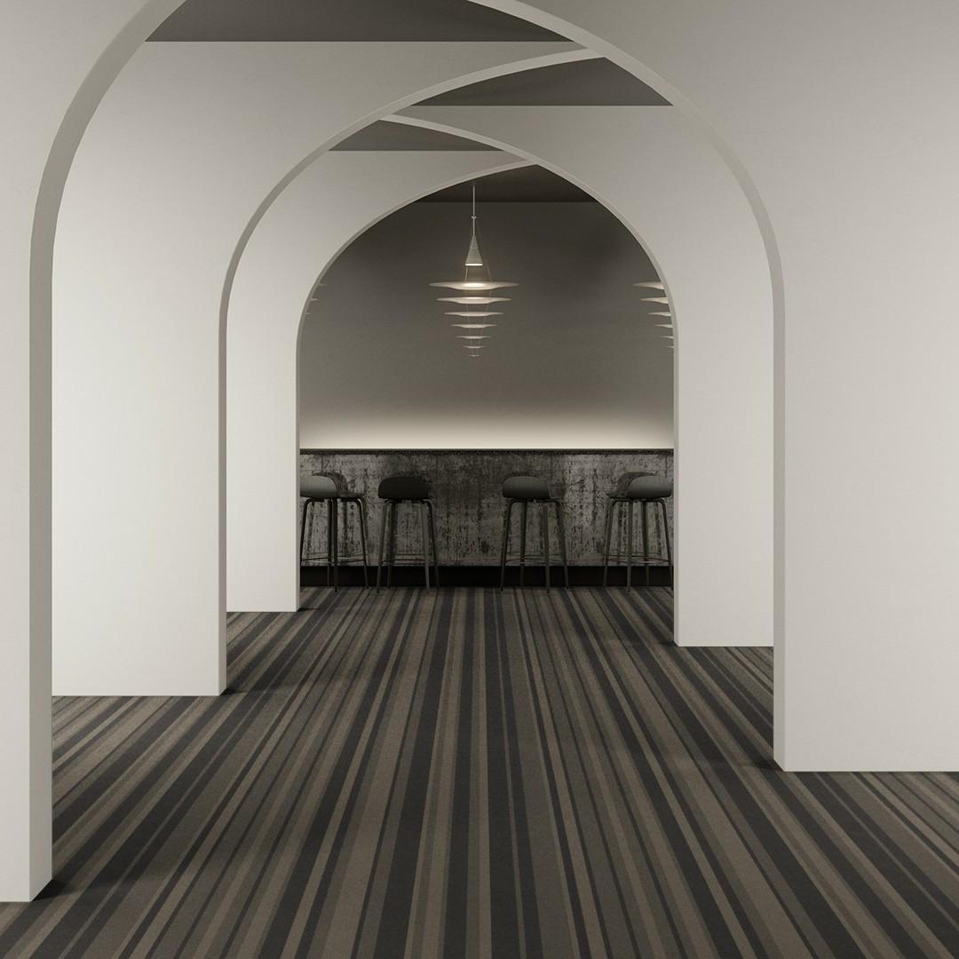 denim stripe black Roomview 2