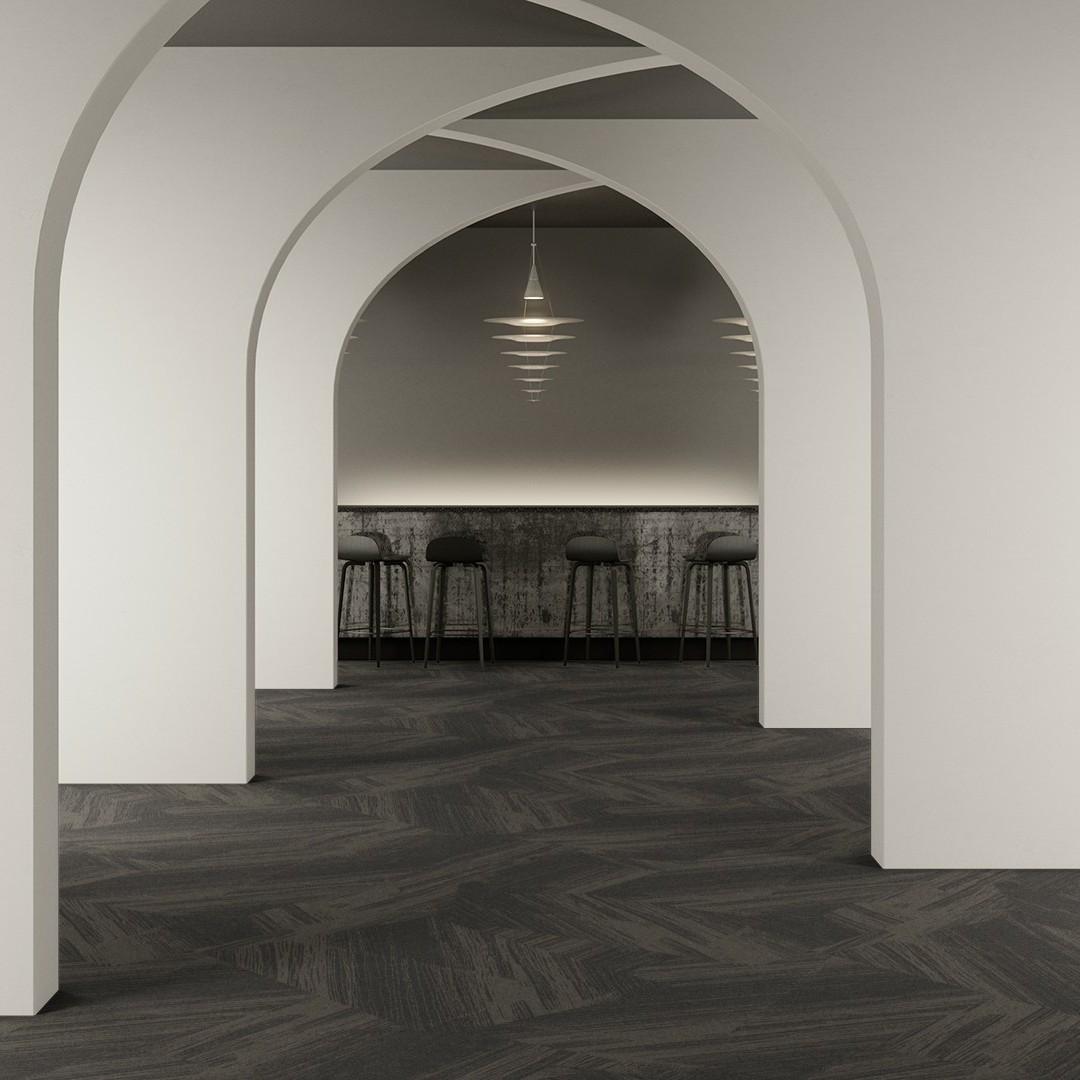 plissé grey Roomview 2