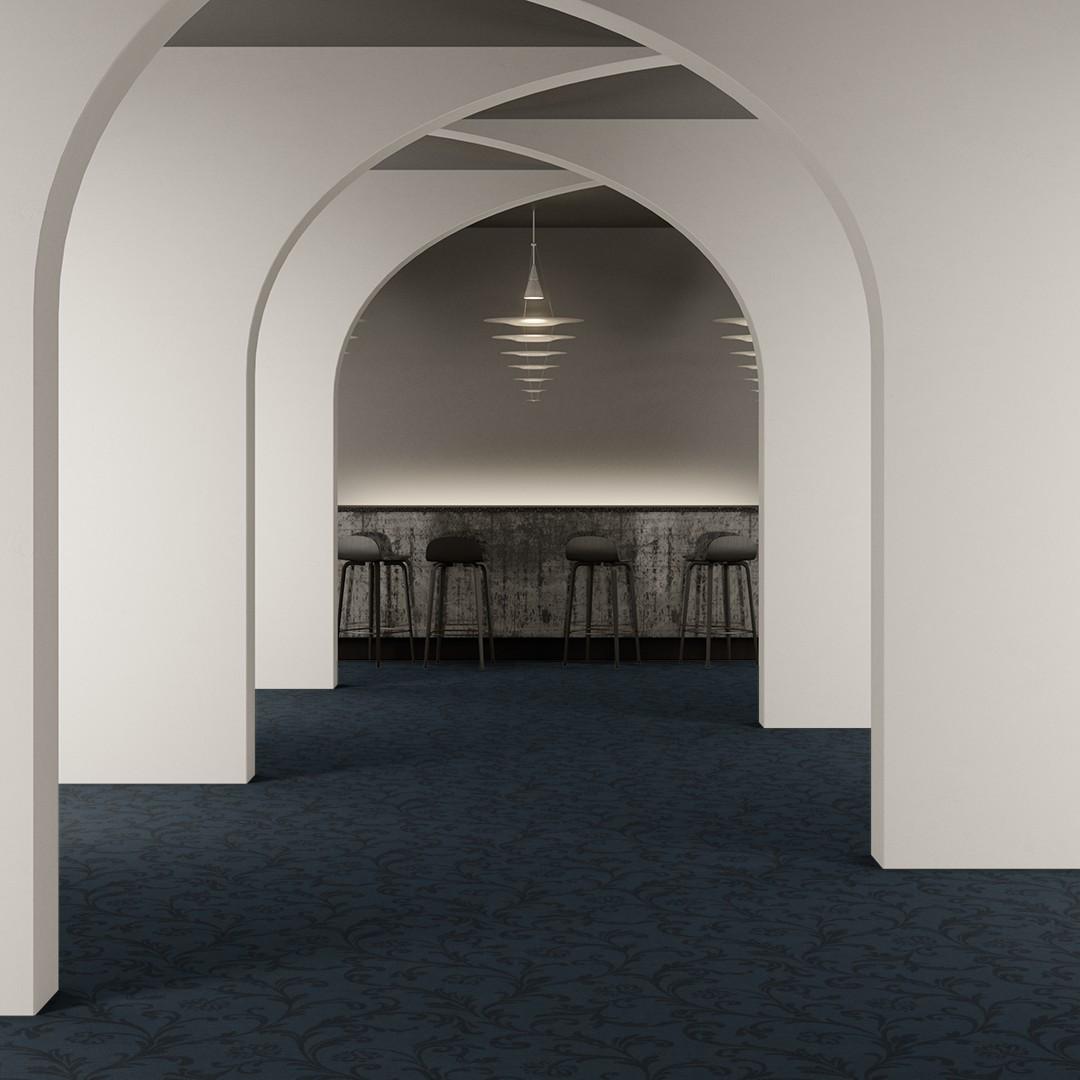 amalfi large  blue Roomview 2