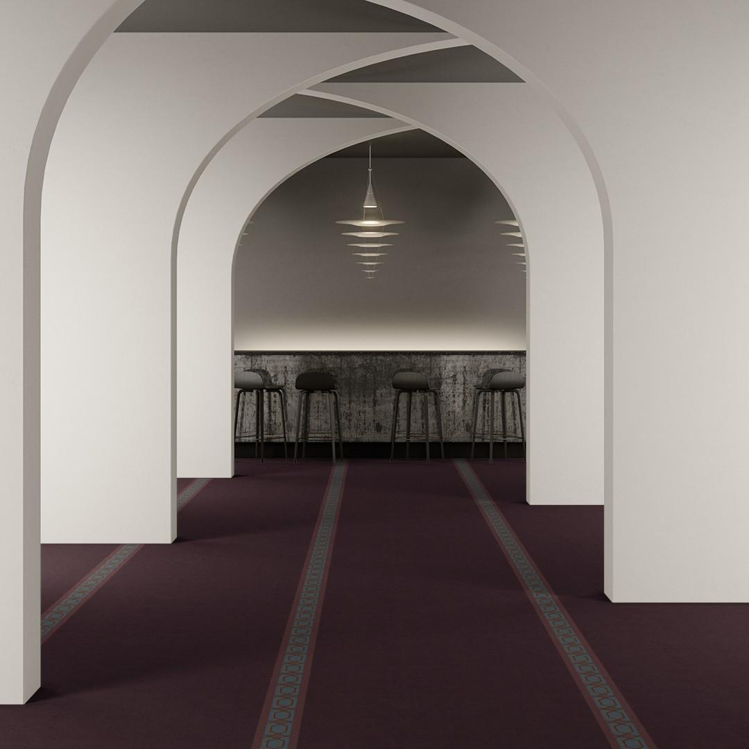 prayer  purple Roomview 2