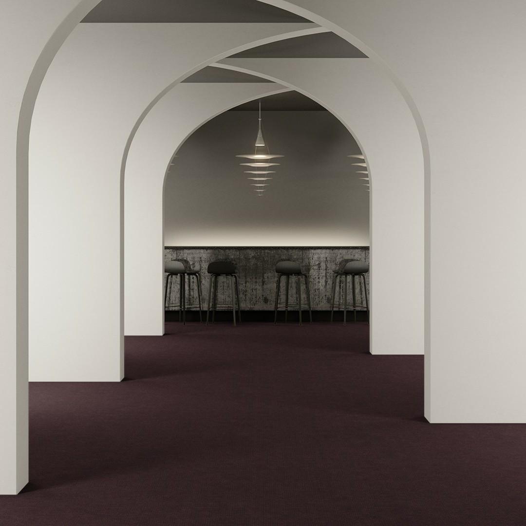 linen  purple Roomview 2